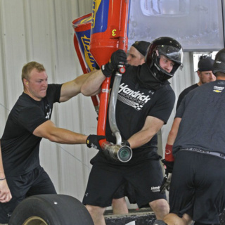 No. 24 Liberty University Chevrolet Pit Crew