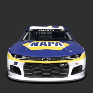 No. 9 Napa Auto Parts Chevrolet