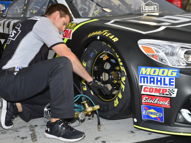 Power & Passion: No. 48 team tire specialist