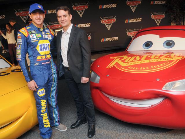 Elliott featured in 'Cars 3'