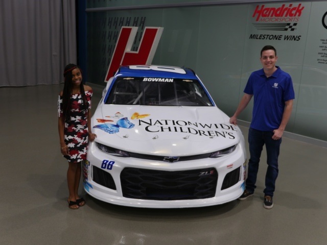Bowman hopes Nationwide Children's Hospital Chevy puts 'smiles on kids' faces'