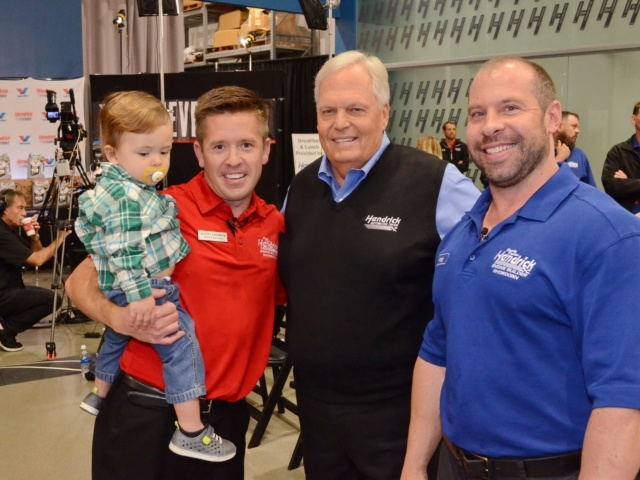 Hendrick Motorsports engine builder's journey