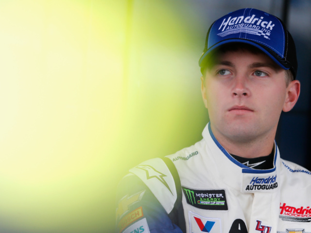 Byron tests 2019 rules package at Charlotte Motor Speedway