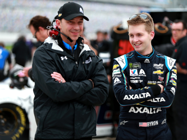Byron, Knaus looking to capitalize on chemistry