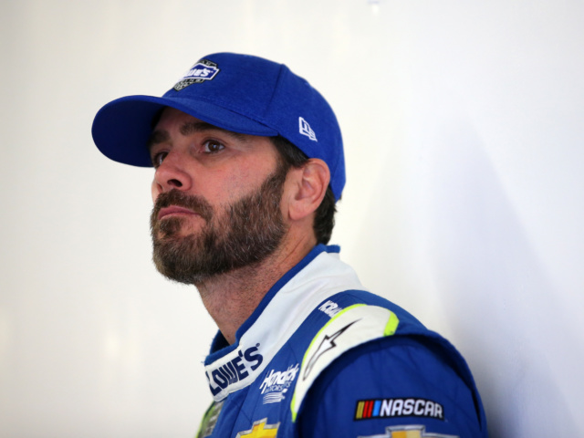 Johnson tests Goodyear tires at Chicagoland
