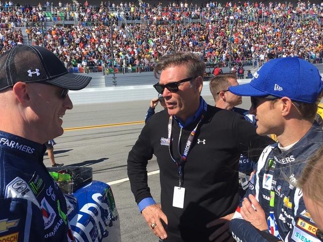 On the Grid: Daytona 500