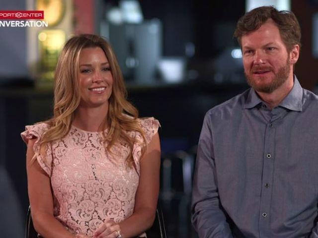 Amy and Dale Earnhardt Jr. sit down for ESPN conversation