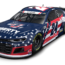 Byron honoring fallen soldier at Charlotte Motor Speedway with patriotic Liberty U scheme