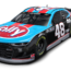 Watch as Johnson's throwback Chevrolet is primed for Darlington
