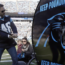 How Hendrick Motorsports took in the Carolina Panthers' key playoff win
