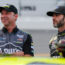 Johnson, Knaus share 'brotherhood' off track, 'storybook run' on it