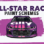Paint Scheme Preview: All-star schemes for the All-Star race