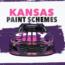 Paint Scheme Preview: Speedy schemes for Kansas