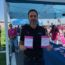 Johnson 'honored' to raise breast cancer awareness through 'Paint the Wall Pink'