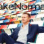 Team members grace Lake Norman Magazine cover