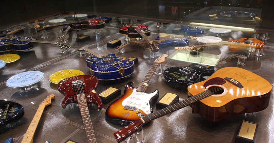 Hendrick gives rare look at his collection of music
