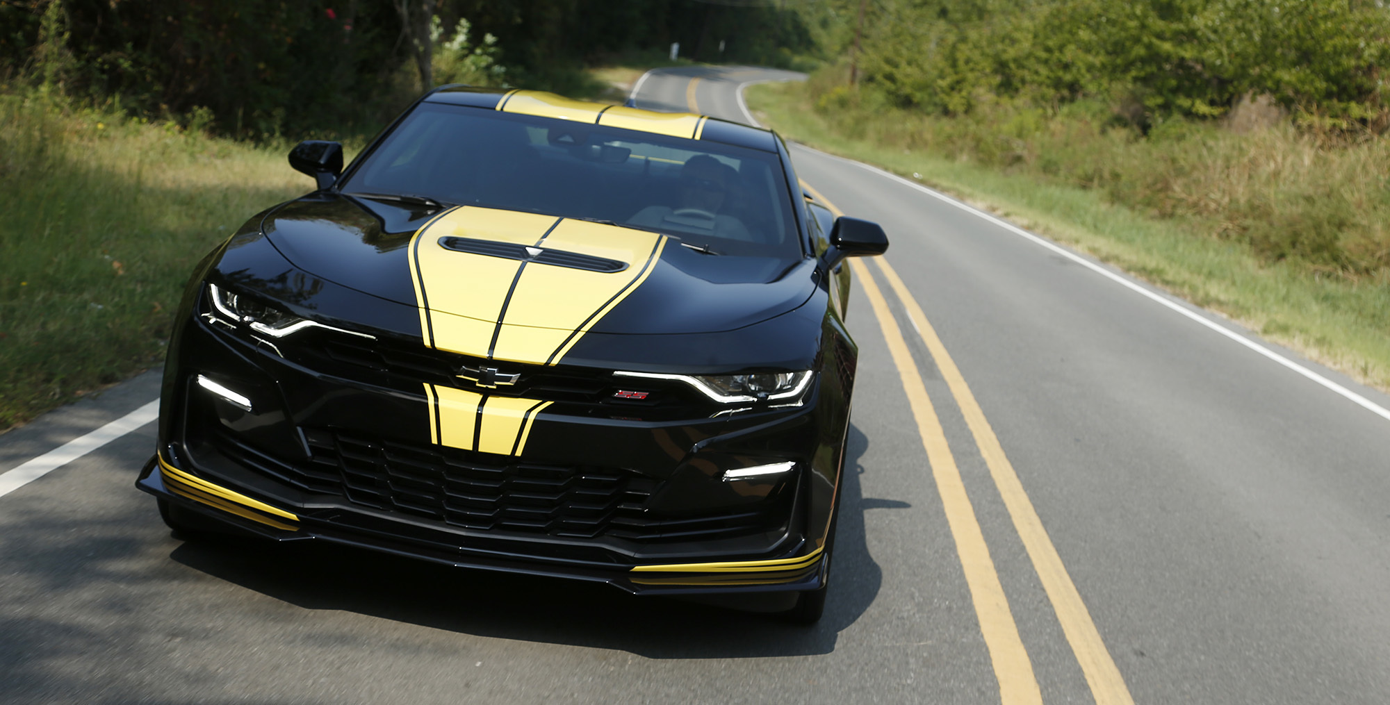 Hertz Hendrick Motorsports Team Up To Create Custom Camaros Hendrick Motorsports