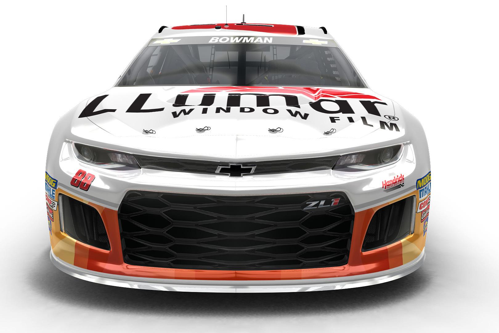 Brand-new LLumar paint scheme released | Hendrick Motorsports